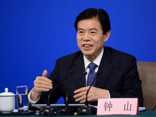 """Chinese Commerce Minister Zhong Shan confirms collaboration between Red Pulse, TRON and """"a level of government""""."""